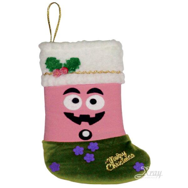 X射線【X383960】聖誕節粉寶造型襪,Party/角色扮演/化妝舞會/表演造型都合適~