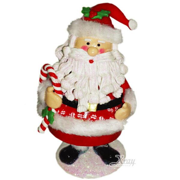 """X射線【X387098】10""""軟陶聖誕老公擺飾(A款),聖誕佈置/聖誕掛飾/裝飾/吊飾/聖誕樹"""