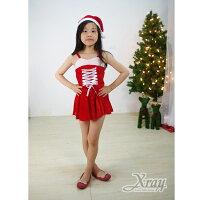 送小孩聖誕禮物到X射線【X644168】緞帶聖誕公主,聖誕衣/聖誕帽/聖誕襪/聖誕禮物袋/聖誕裝