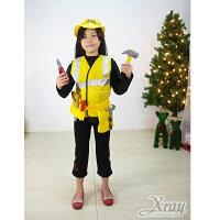 送小孩聖誕禮物到X射線節慶王【X370016】工程師裝,聖誕衣/萬聖節造型服裝/化妝舞會/派對道具/兒童變裝/職業造型服