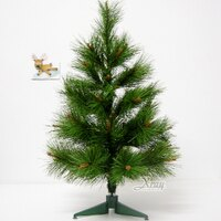 幫家裡聖誕佈置裝飾推薦聖誕樹及聖誕花圈到2呎松針樹(綠),聖誕樹空樹/聖誕佈置/擺飾/聖誕飾品/聖誕佈置裝飾推薦,X射線【X030013】就在X射線 精緻禮品推薦幫家裡聖誕佈置裝飾