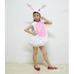 兔子 角色扮演 萬聖節服裝 聖誕節 兒童變裝