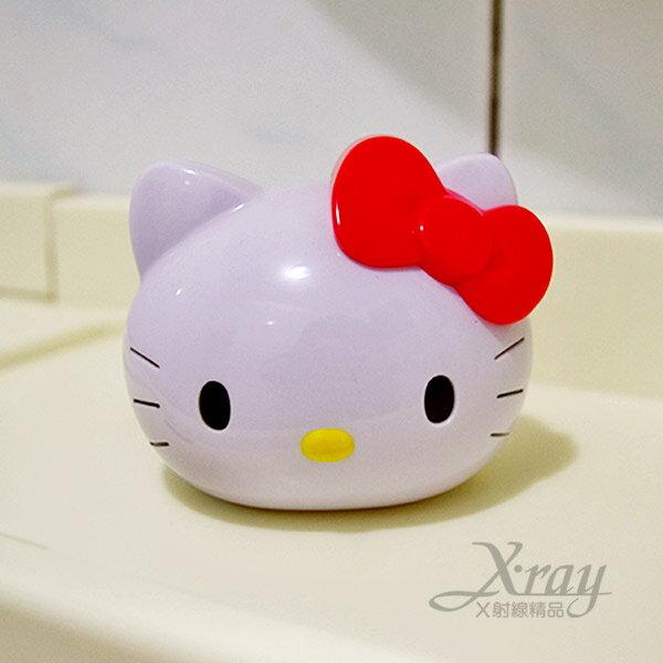 X射線【C863301】Kitty車內消臭芳香劑(白色.kitty頭型),芳香劑.除臭.容量45g