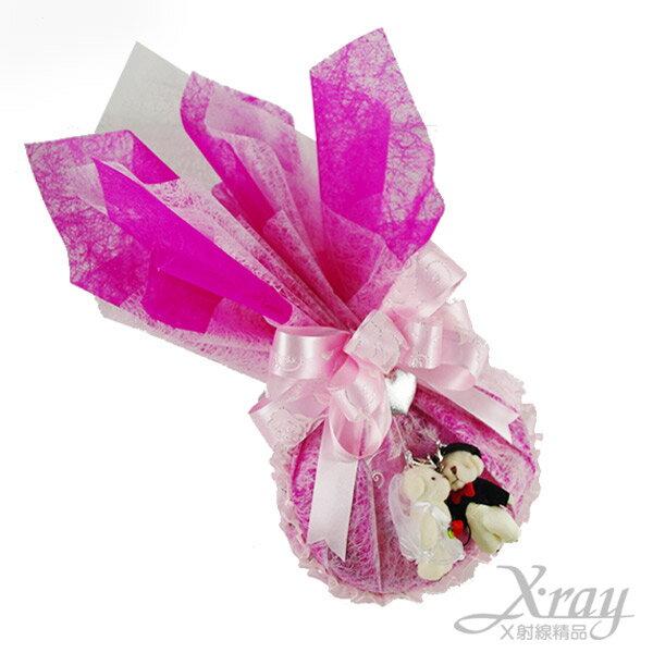 X射線【Y999951】L.O.V.E告白金莎禮盒(戀愛桃),情人節金莎花束/情人節禮物/婚禮小物
