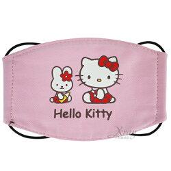 X射線【C076702】kitty兒童口罩(粉.兔子),衛生口罩/防塵口罩/卡通口罩