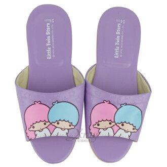 X射線【C522742】雙子星室內皮製拖鞋(紫色),兒童拖鞋/室內拖鞋/舒適拖鞋/休閒拖鞋/生活居家/台灣製