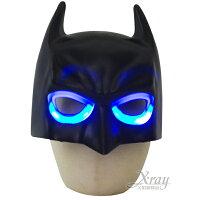 萬聖節Cosplay配件推薦到X射線【W060012】蝙蝠俠LED發光面具(半罩),萬聖節/Party/角色扮演/化妝舞會/表演造型都合適~就在X射線 精緻禮品推薦萬聖節Cosplay配件