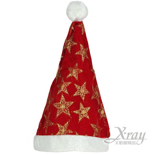 X射線【X010010】豪華聖誕帽(大人適用),聖誕/聖誕老公公裝/聖誕帽/角色扮演
