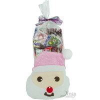 父親節大餐推薦到X射線【X2945012】老公雪人糖果袋糖果組(粉紅),聖誕襪/聖誕節禮物/禮物袋/聖誕糖果/聖誕大餐就在X射線 精緻禮品推薦父親節大餐