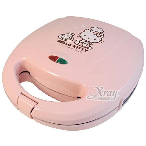 X射線【C165189】 HelloKitty三明治機(粉.吐司),烹飪用具/廚房用品/不沾黏/好清理/OT-528K