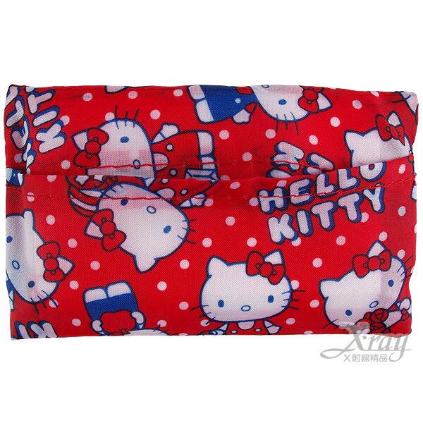 X射線【C133677】Kitty面紙收納套,置物袋/旅行必備/收納包/旅行組/萬用包