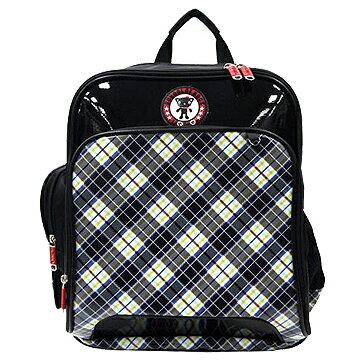 <br/><br/>  X射線【Cb3213N】UnMe英格蘭格紋多功能後背書包(藍)台灣製造,開學必備/護脊書包/書包/後背包/背包/便當盒袋/書包雨衣/補習袋/輕量書包/拉桿書包<br/><br/>