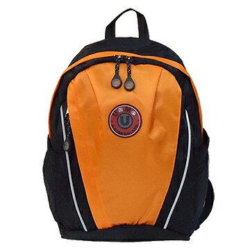 X射線【Co3062】UnMe超大容量休閒背包(粉橘)台灣製造,開學必備/兒童書包/雙肩包/手提包