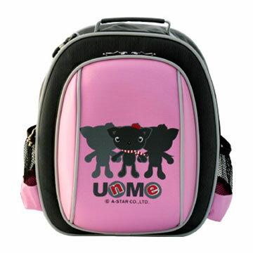 X射線【Cp3052】UnMe多功能後背書包(粉)台灣製造,開學必備/護脊書包/書包/後背包/背包/便當盒袋/書包雨衣/補習袋/輕量書包/拉桿書包