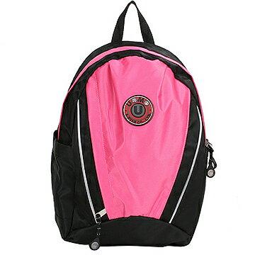 X射線【Cp3062】UnMe超大容量休閒背包(粉紅)台灣製造,開學必備/兒童書包/雙肩包/手提包