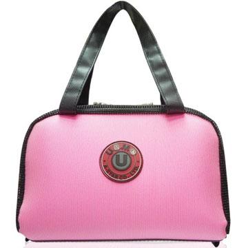 X射線【Cp3110】UnMe多功能手提便當袋萬用提袋(粉紅)台灣製造,開學必備/兒童書包/雙肩包/手提包