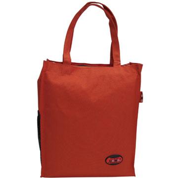 X射線【Cr1318】UnMe多功能手提便當袋萬用提袋(紅)台灣製造,學必備/護脊書包/書包/後背包/背包/便當盒袋/書包雨衣/補習袋/輕量書包/拉桿書包