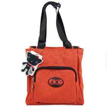 X射線【Cr3112】UnMe多功能手提便當袋萬用提袋(紅)台灣製造,開學必備/護脊書包/書包/後背包/背包/便當盒袋/書包雨衣/補習袋/輕量書包/拉桿書包