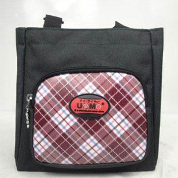 X射線【Cr3118】UnMe多功能手提便當袋萬用提袋(紅)台灣製造,學必備/護脊書包/書包/後背包/背包/便當盒袋/書包雨衣/補習袋/輕量書包/拉桿書包