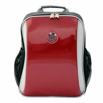X射線【Crr3037】UnMe多功能後背書包(鏡紅)台灣製造,開學必備/護脊書包/書包/後背包/背包/便當盒袋/書包雨衣/補習袋/輕量書包/拉桿書包