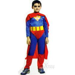 節慶王【W911483】無敵超人裝連身裝扮服,化妝舞會/角色扮演/尾牙表演/萬聖節/兒童變裝/cosplay