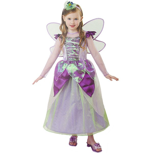 X射線【W380108】紫綠公主長蓬裙,化妝舞會/角色扮演/尾牙表演/萬聖節/聖誕節/兒童變裝/cosplay