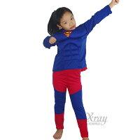 超人 角色扮演服裝推薦到X射線【W370006】二件式超人肌肉服裝,化妝舞會/角色扮演/尾牙表演/萬聖節/聖誕節/兒童變裝/cosplay就在X射線 精緻禮品推薦超人 角色扮演服裝