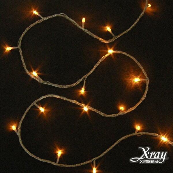 X射線【X310016】100燈LED線燈(A)-黃+IC,聖誕樹/LED燈/聖誕燈/裝飾燈/燈飾/造型燈/聖誕佈置