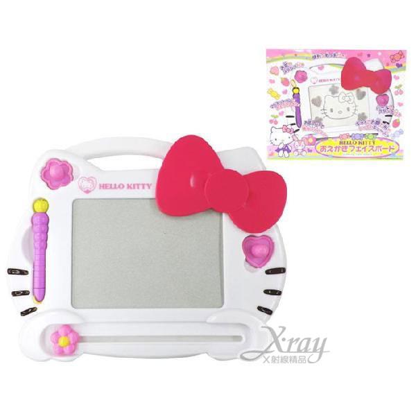 X射線【C125777】Hello Kitty 畫板玩具組《粉.蝴蝶結》適合3歲以上兒童