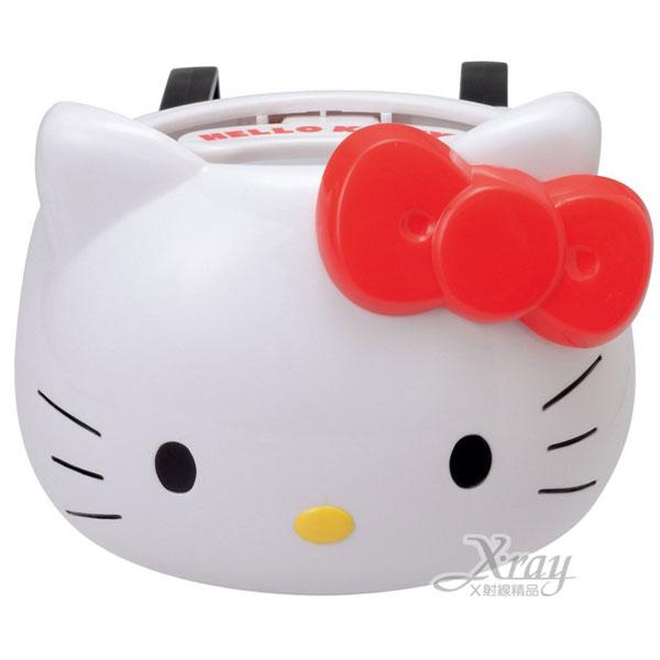 X射線【C862847】Hello Kitty 汽車前座置物架/飲料架/杯架/飲料架(紅.大臉)