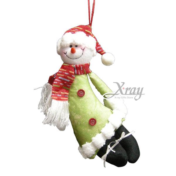 X射線【X429517】飛舞聖誕雪人玩偶(9寸),聖誕/聖誕佈置/裝飾/吊飾/交換禮物