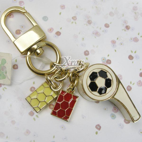 X射線~G918008~水鑽哨子鎖圈,情人節 婚禮小物 鑰匙圈 鎖圈