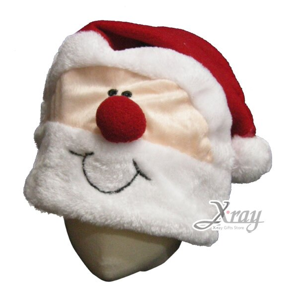 X射線【X907165】17吋俏皮老公公聖誕帽(大人適用),聖誕/聖誕老公公裝/聖誕帽/角色扮演