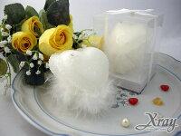 婚禮小物推薦到X射線【Y150004】造型蠟燭婚禮小物系列-(大雙心)