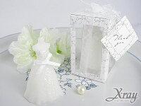 婚禮小物推薦到X射線【Y50006】造型蠟燭婚禮小物系列-婚紗