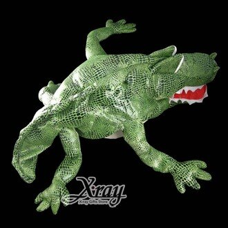 X射線【W010015】萬聖節鱷魚造型帽,Party/角色扮演/化妝舞會/表演造型都合適~