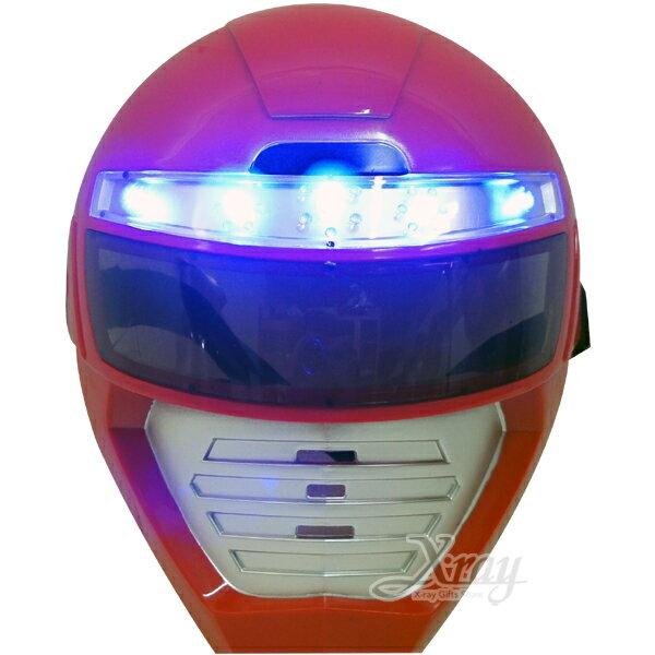 X射線【W060008】特搜戰隊LED發光面具,萬聖節/Party/角色扮演/化妝舞會/表演造型都合適~