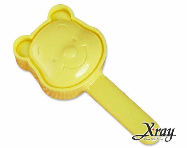 X射線~C084010~小熊維尼臉型飯糰 麵包定型器 壓模 模具 ~  好康折扣