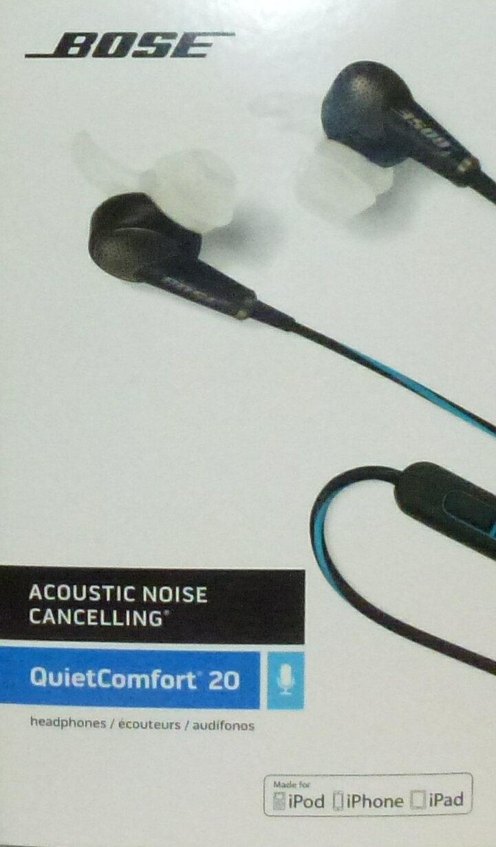 f5ec73daa76 Bose QuietComfort 20 Headphones (iOS) Black Model: BOSE QC20 (IOS)