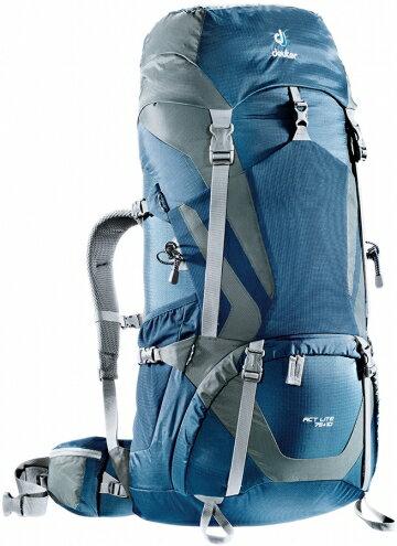 【露營趣】中和 7好禮 德國 deuter Act Lite 75+10L拔熱透氣背包 登山背包 自助旅行背包 登山袋 4340315