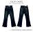 牛仔褲--絕對顯瘦素面側邊車線中腰小喇叭牛仔褲(S-7L)-N31眼圈熊中大尺碼 8