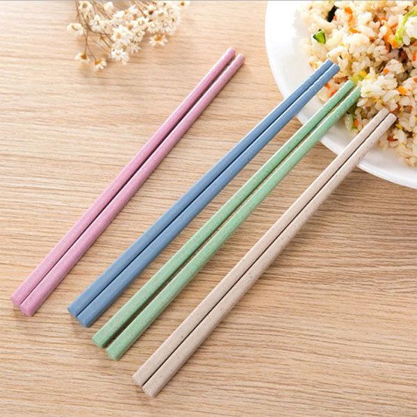筷子-韓系北歐環保無毒小麥秸稈 筷子 環保餐具 便當【AN SHOP】
