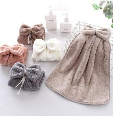 PS Mall 可愛掛式擦手巾超強吸水廚房擦手帕33*33CM【J1749】 0