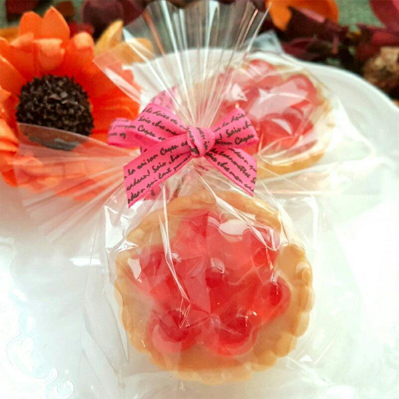婚禮小物-草莓派手工皂 (一入裝) /甜點皂/節日禮品【棠逸手作皂 】