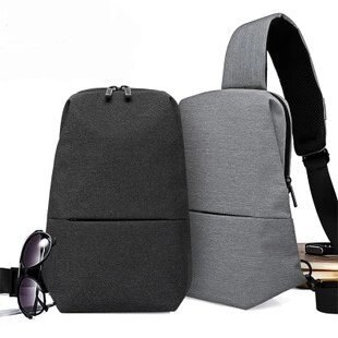 【瞎買天堂x現貨供應】都市休閒風格胸包 斜背包 可放iPad 多層收納 僅0.33kg【BGAA0410】