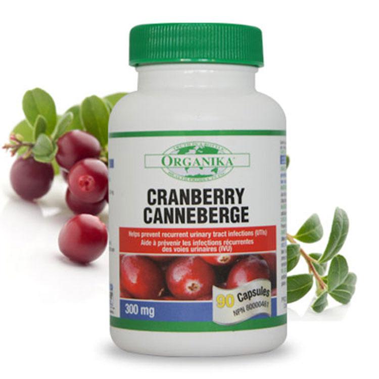 蔓越莓膠囊(12倍冷壓萃取)-90顆-加拿大Organika(優格康)