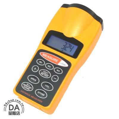 《DA量販店》樂天最低價 超音波 測距儀 可測 長度 面積 體積 有螢幕背光 含雷射瞄準(22-153)