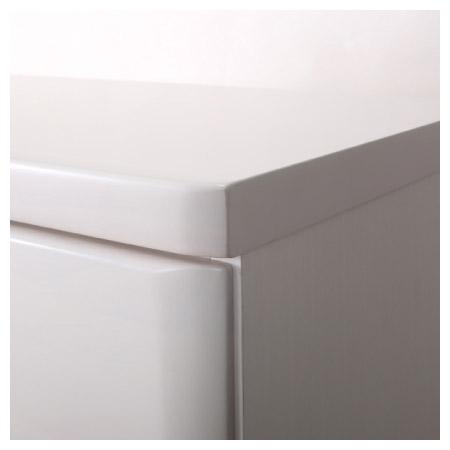 ◎(OUTLET)高整理衣櫃 斗櫃 OUKA2 120HC WH 福利品 NITORI宜得利家居 2