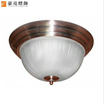 【豪亮燈飾】紅古銅貴族3燈環吸燈~藝術燈、房間燈、水晶燈、美術燈、吊扇燈、壁燈、吊燈