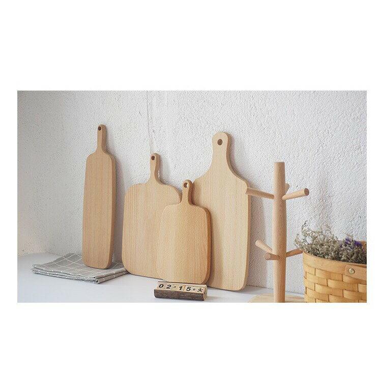 廚匠烘焙日式櫸木/ 實木砧板/ 菜板/ 木製麵包 披薩板 水果板 托盤